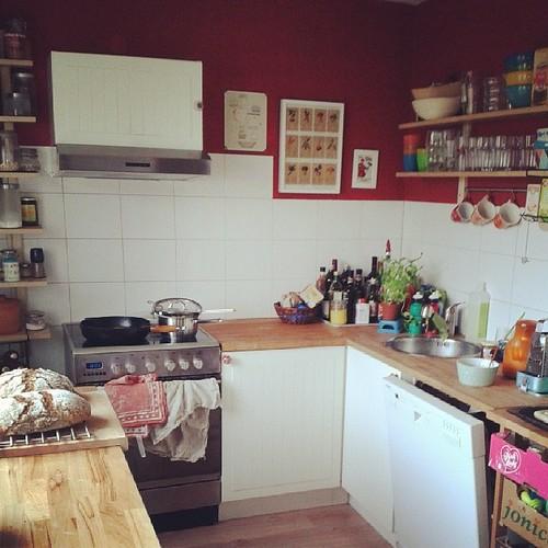 Küche gezähmt.