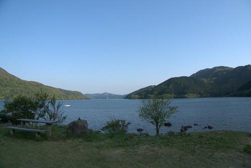 気持ちの良い湖畔