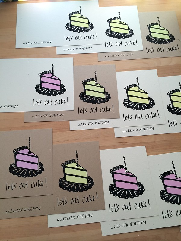 Let's Eat Cake! Card by Vitamini
