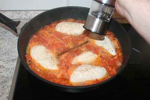 28 - Aufkochen mit Pfeffer & Salz würzen / Season with salt & pepper