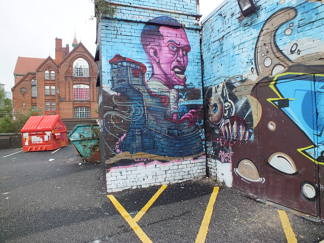 Street art and graffiti in Digbeth, Birmingham