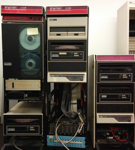 PDP-11/34 cabinets