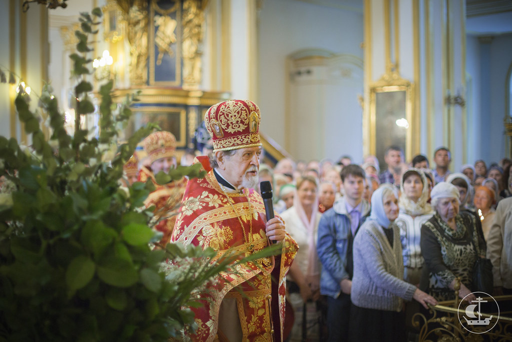 22 мая 2014, Литургия в Николо-Богоявленском морском соборе / 22 May 2014, Divine Liturgy in the St. Nicholas Naval Cathedral