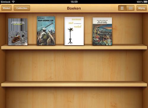 boeken Jan Noordegraaf in iBooks