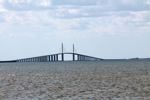 Sunshine skyway bridge tar heel camper for Sunshine skyway fishing pier