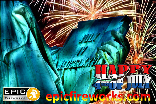 Happy 4th July from #EpicFireworks