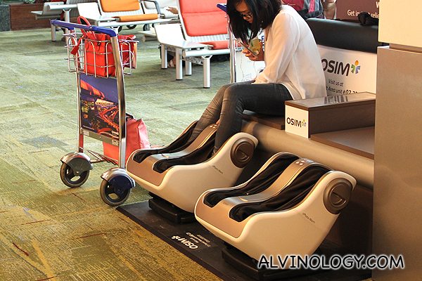 Free foot massages with the OSIM foot massagers