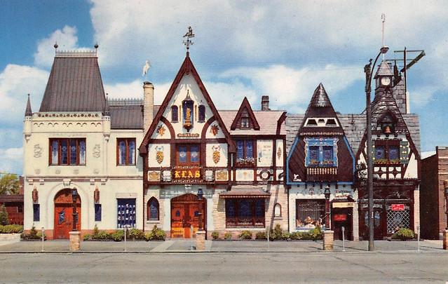 Klas Restaurant postcard