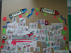 Riverdale library Coloring/Art Board