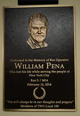 William Pena Plaque Dedication