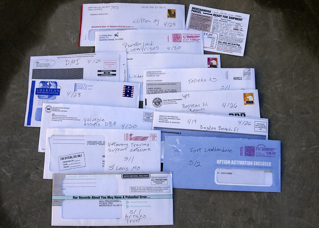 USPS | Drowning in Junk Mail