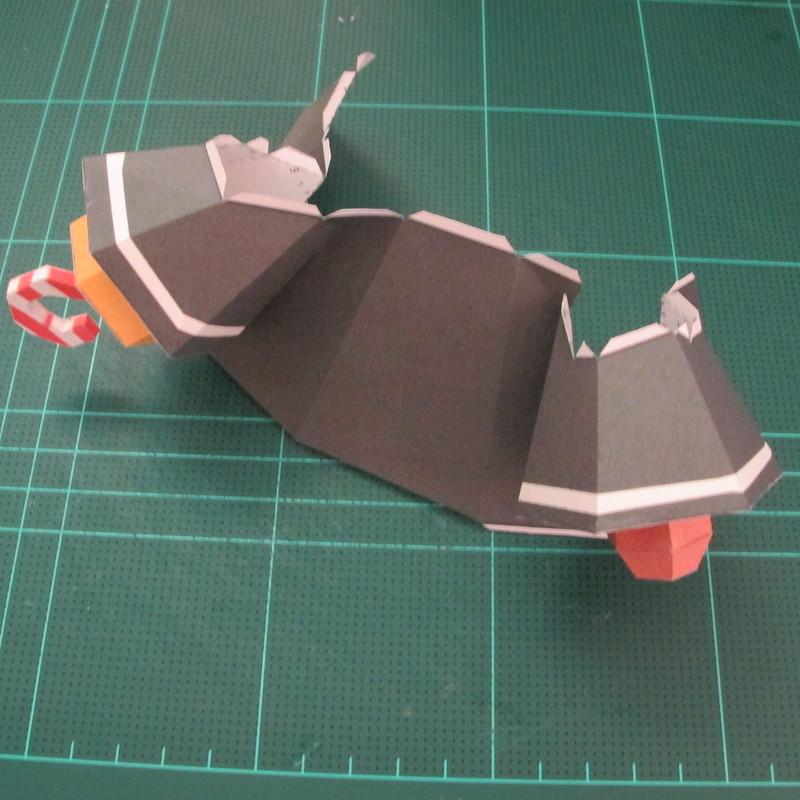 วิธีทำโมเดลกระดาษคุกกี้รัน คุกกี้รสโจรสลัด (Cookie Run Pirate Cookie Papercraft Model) 006