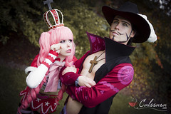 Perona and Mihawk (One Piece)