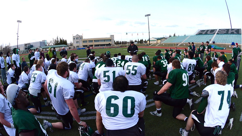 Scrimmage brings spring camp to a close