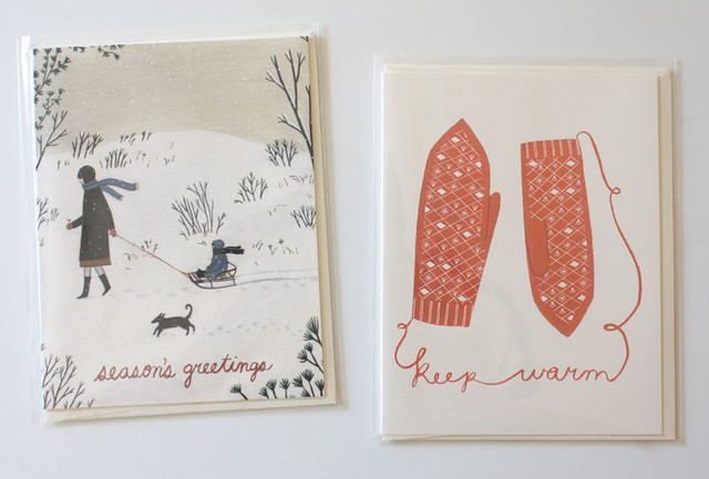 two new holiday cards 2014