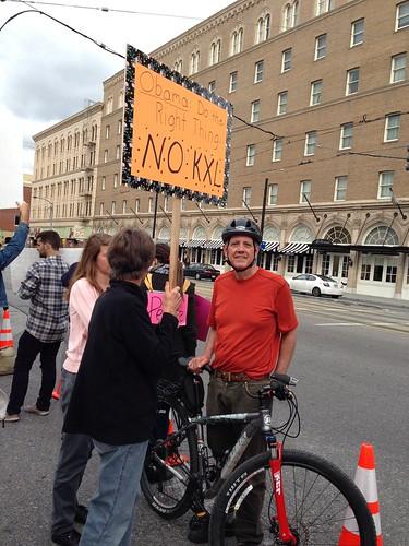 KXL protest, San Jose IMG_2461