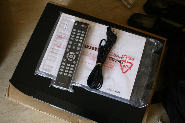 JUAL CD-PLAYER MARANTZ CD5003 2ND TAPI MASI GRESS !!!