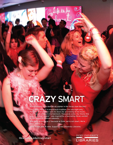 Crazy Smart Library Party