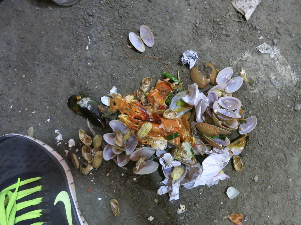 seafood trash