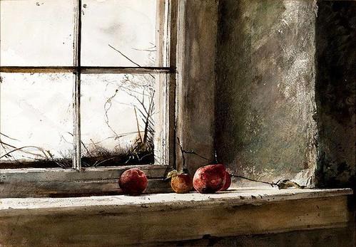 """Andrew Wyeth - """"Frostbitten"""" (1962)"""