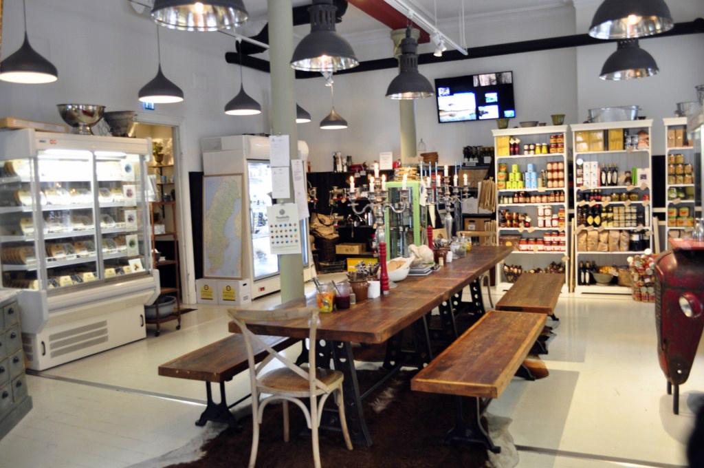 Interior de un restaurante típico de Albóndigas de toda Suecia