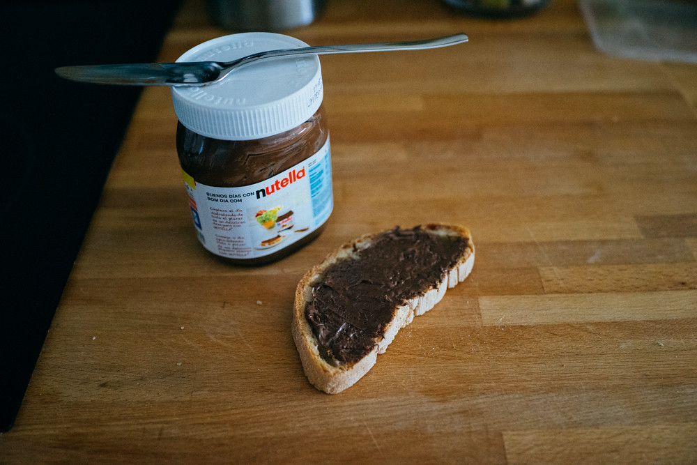 nutella ftw.