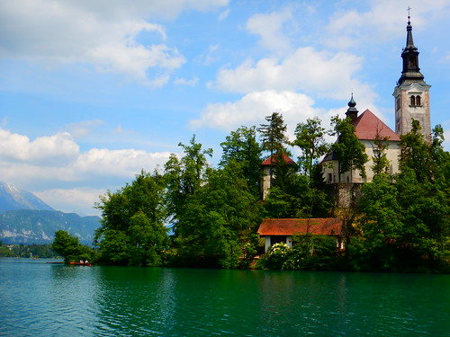 Assumption of Mary Church on Bled Island
