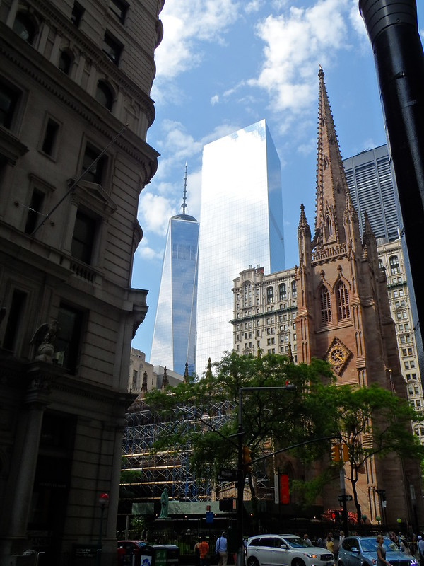 World Trade Center and Trinity Church