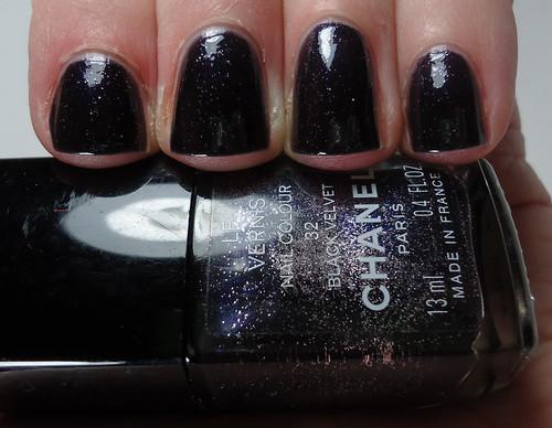 Chanel Black Velvet