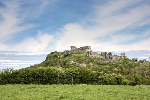 ireland sky sun castle rock hdr rockyoutcrop laois rockofdunamase dunamase backpackphotography dunmasc fortofmasc