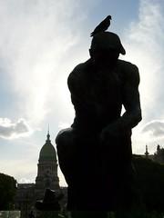 Le penseur devant le Congrès