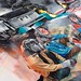 Work in progress from Joram Roukes for his solo show 'Parmanesia' this July at Thinkspace by thinkspace_gallery