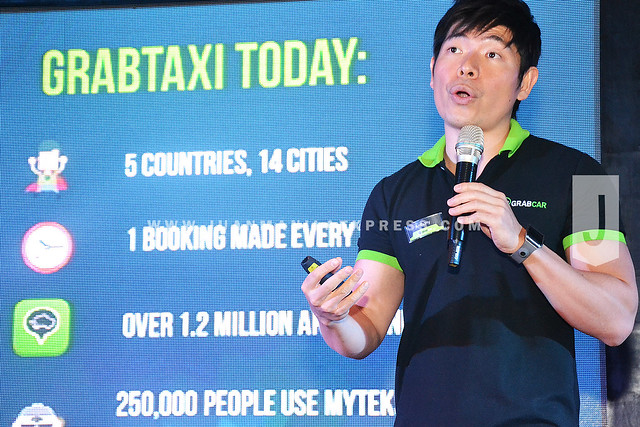 A VISIONARY. Anthony Tan co-founded GrabTaxi and is the CEO of GrabTaxi Philippines.