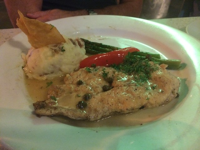 Chicken piccata - Lulu California Bistro