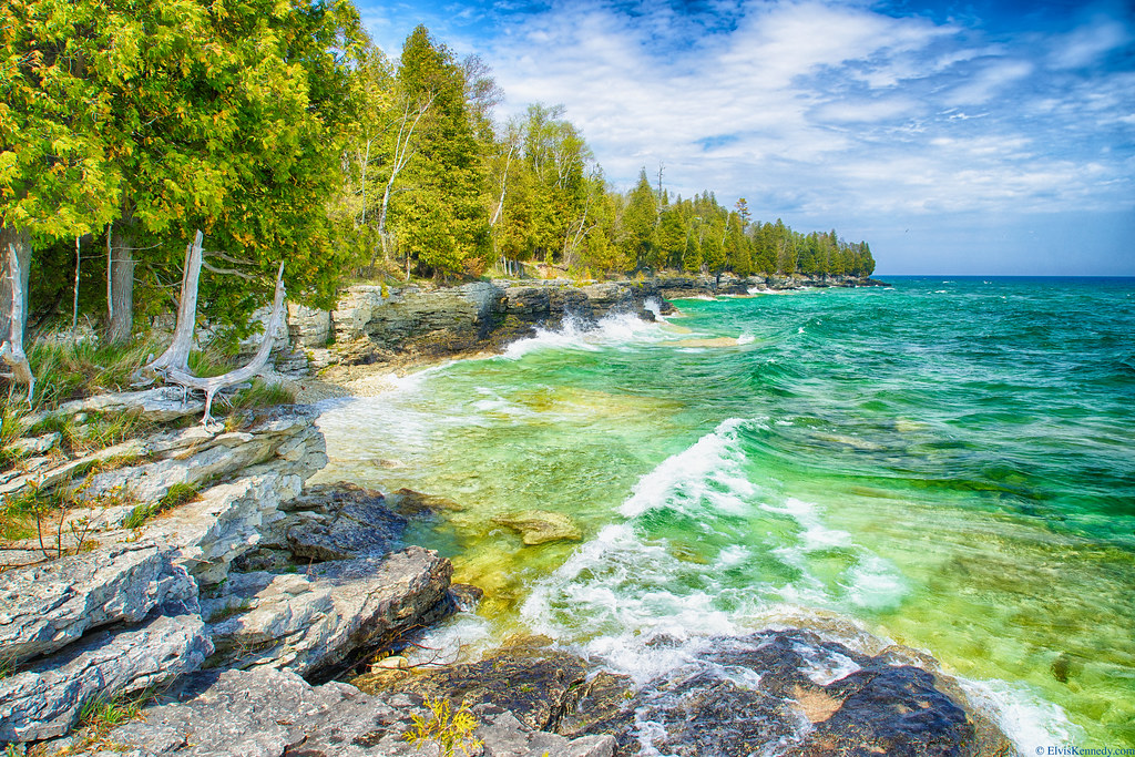 Cave Point - Door County