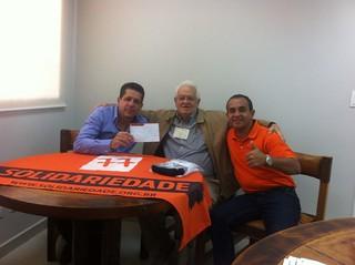 O advogado Drausio Rangel se une ao Solidariedade