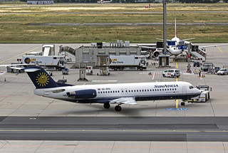 9A-CTD Fokker 100  Sun Adria