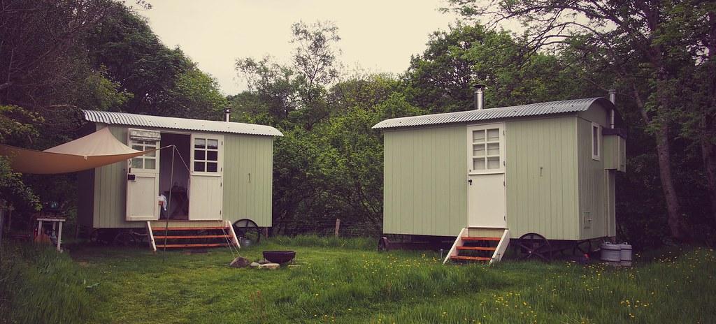 Shepherds' Huts, Snowdonia