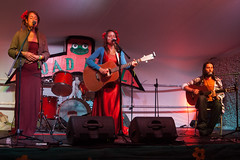 Glastonbury 2014 - Susie Roe And Ayla