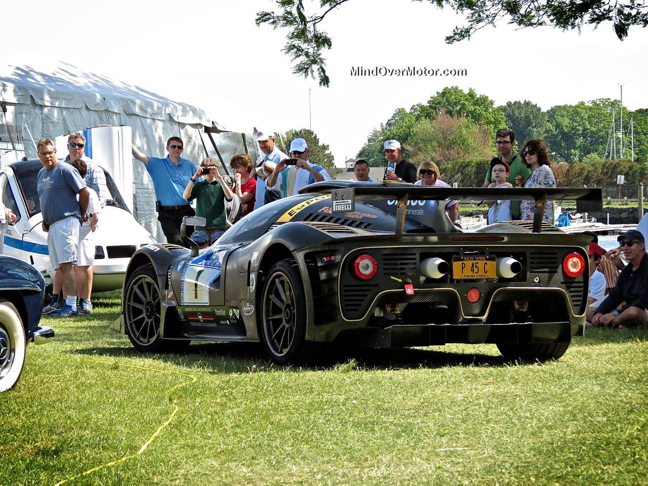 P4-5 Competizione rear
