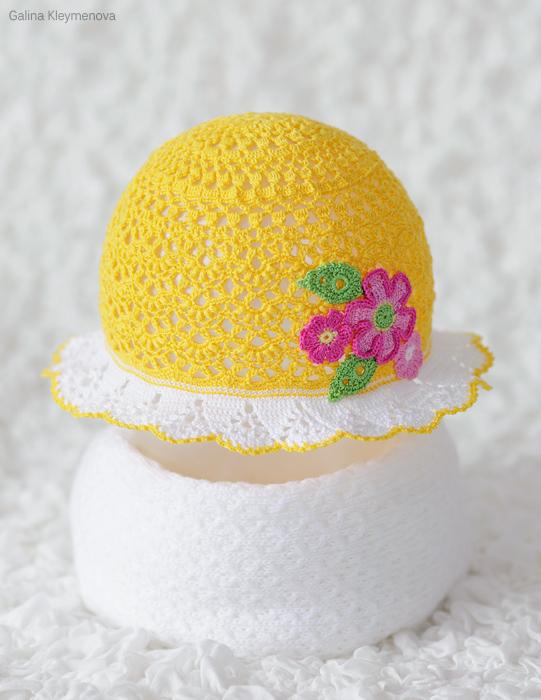 Желтая панамочка