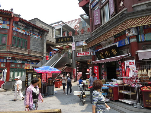 Historic old Street, Tianjin, China