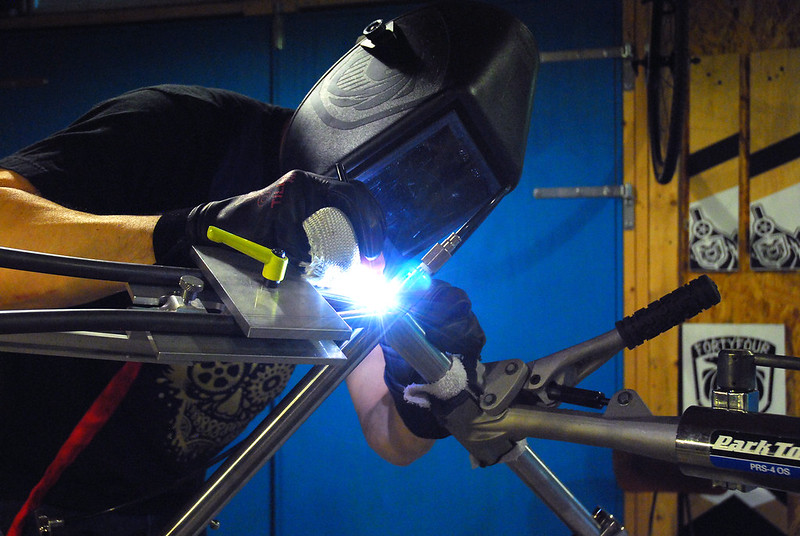 Welding those Seat Stays