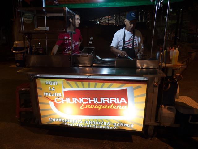Chunchurria stand