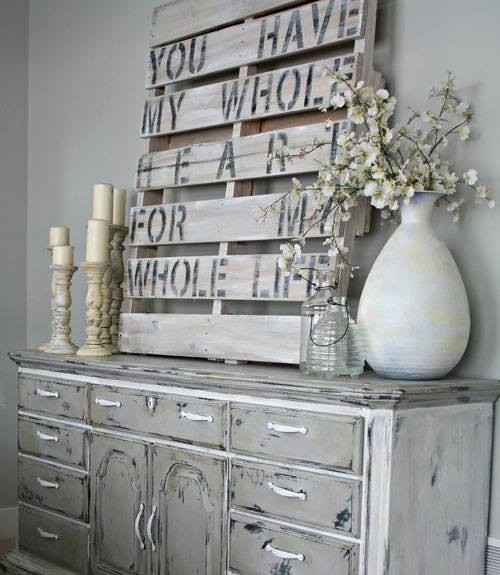 Flea Market Home Decor on #LivingAfterMidnite