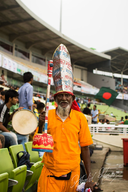 Crazy Bangladeshi Cricket Fan