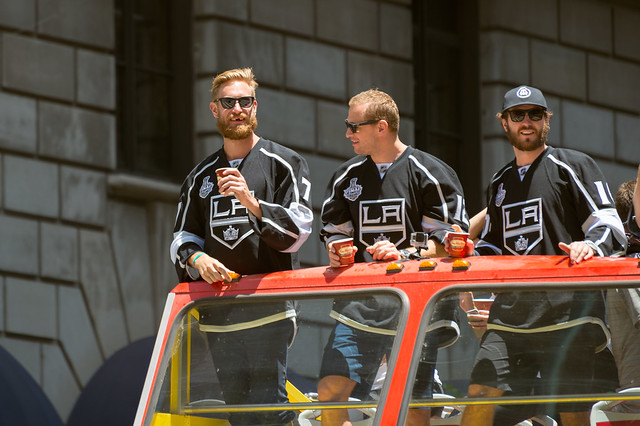 Kings victory parade