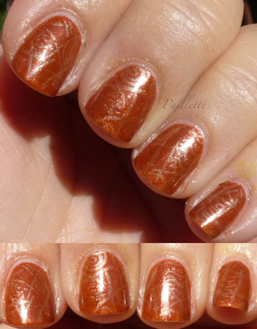 Paillette: a little nail polish journal: OPI Bronzed to Perfection ...