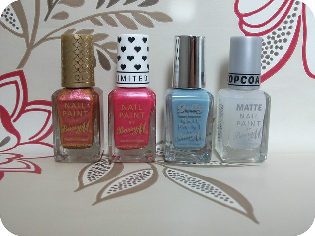 Barry M Polishes 3 for 2 Superdrug