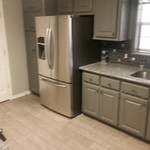 This weeks Kitchen remodeling including granite counters, backsplash, painting cabinets and new appliances.